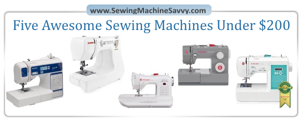 Five Awesome Sewing Machines Under 40 Awesome Compare Sewing Machines