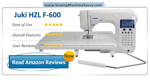 Juki HZL F40 Sewing And Quilting Machine Review Mesmerizing Juki Sewing Machine Reviews