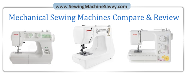 Three Of The Best Mechanical Sewing Machines Cool Compare Sewing Machines