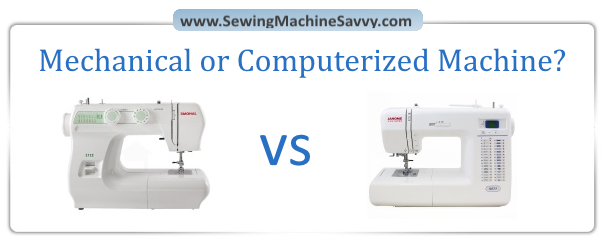Computerized Vs Mechanical Sewing Machines In Depth Comparison Unique Compare Sewing Machines