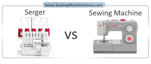 Serger Vs Sewing Machine What's The Difference Unique Sergers Sewing Machines